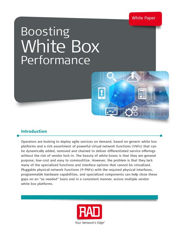 Boosting White Box Performance